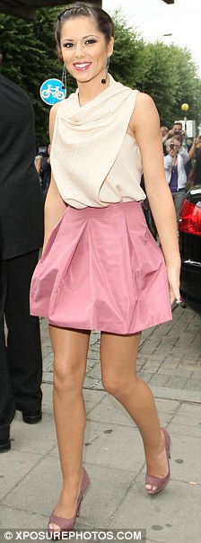 X Factor judge Cheryl Cole arrives for the auditions at Hammersmith Apollo