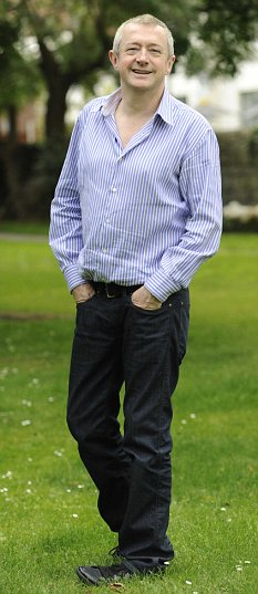 Louis Walsh appears fitter and trimmer than ever