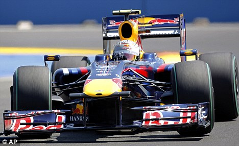 Red Bull Formula One driver Sebastian Vettel