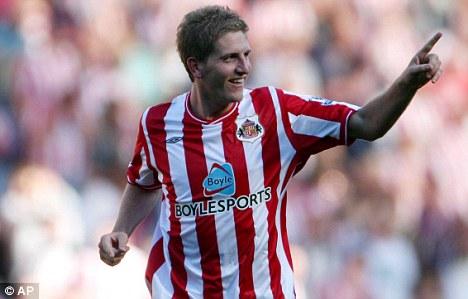 Sunderland's Michael Turner