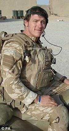 Paul McAleese, 29, of 2nd Battalion The Rifles