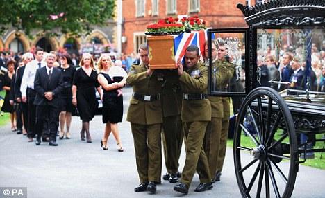 Paul McAleese coffin