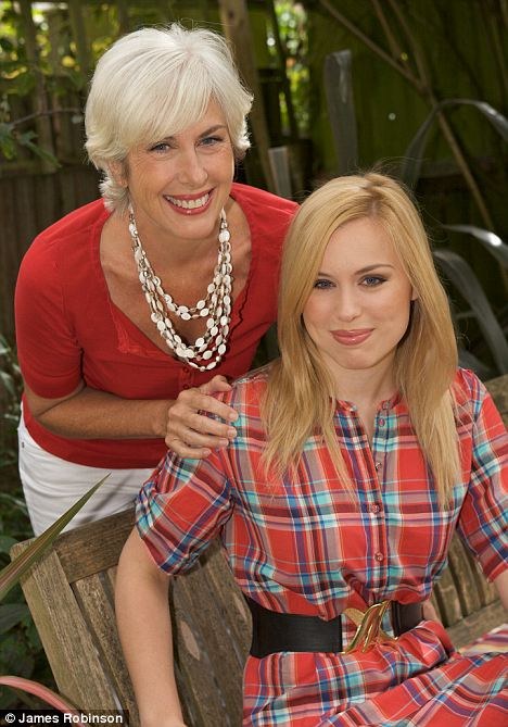 Working example: Louise Chunn with her daughter Alice