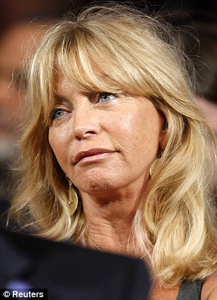 Actress Goldie Hawn
