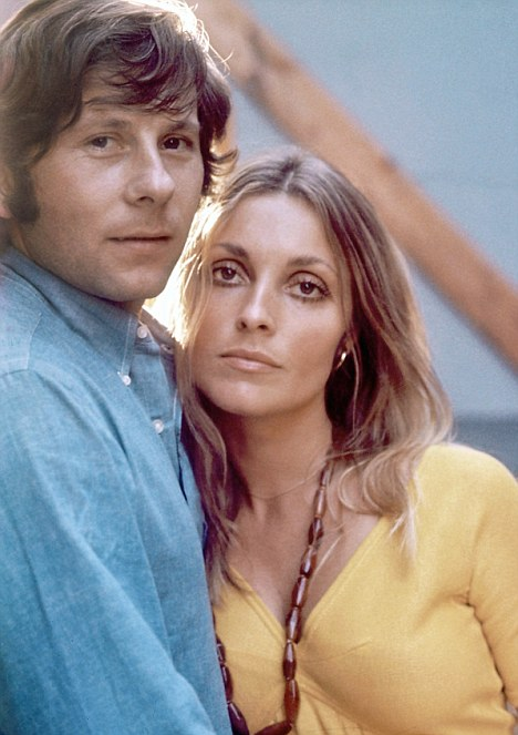 Roman Polanski in 1969 with his then wife Sharon Tate