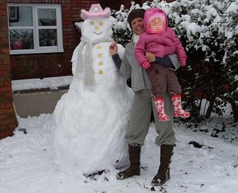 Leanne Shepherd and daughter