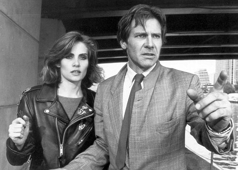 Seigner with Harrison Ford in Polanski's 1988 film 'Frantic'