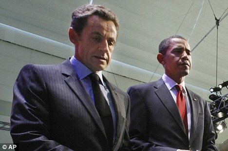 Diplomatic tension: Nicolas Sarkozy with Barack Obama at the G20 summit in Pittsburgh last week. Sarkozy is said to be hoping for a swift resolution to the Polanski case