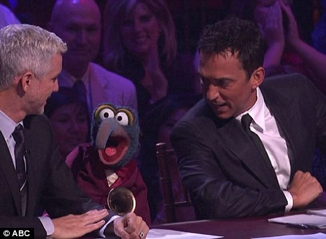 Gonzo joined Moulin Rouge director Baz Luhrmann and Bruno Tonioli