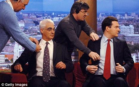 Alistair Darling and George Osborne