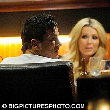 Nicola McLean and Peter Andre May Fair Hotel