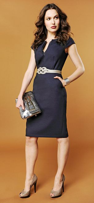 Belt, £119, Sarah Cavender at Fenwick; bangle, Toda Joia as before; clutch, £640, Anya Hindmarch; shoes, £80, Aldo