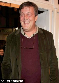 Words of wisdom: Stephen Fry responded to fan's plea for help with a heartfelt letter