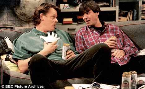 Television Programme: Men Behaving Badly Starring Martin Clunes and Neil Morrissey