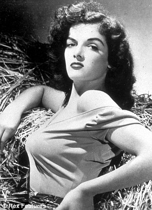 Jane Russell with pointy bra