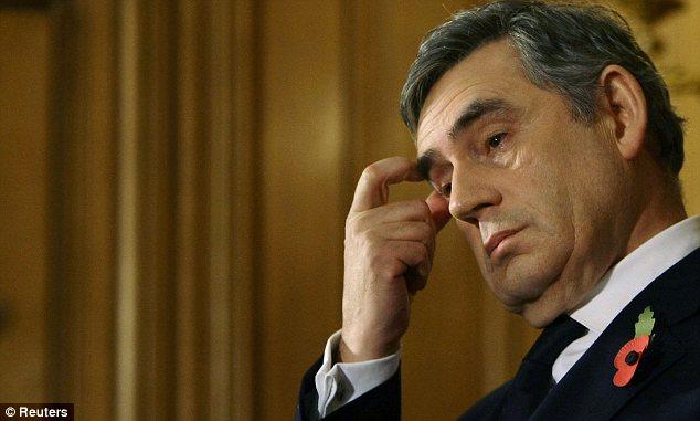 Gordon Brown in Downing Street