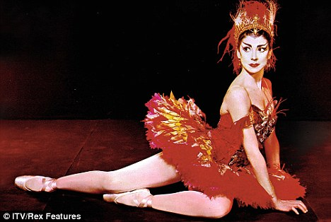 Margot Fonteyn stars in a Royal Ballet film featuring different ballets, including Tchaikovsky's 'Swan Lake'