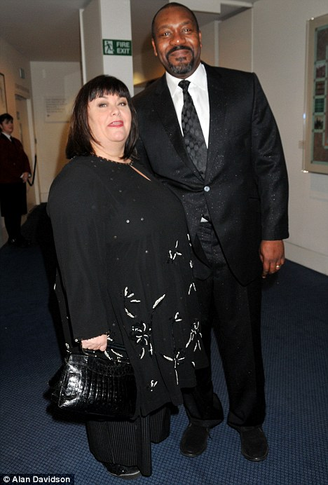 Lenny Henry and Dawn French