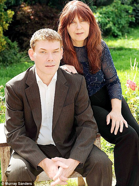 Gary McKinnon with his mother Janis Sharp