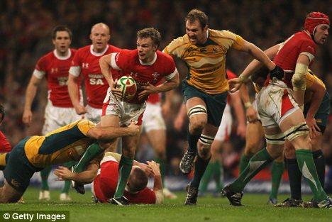 Wales' Dwayne Pee