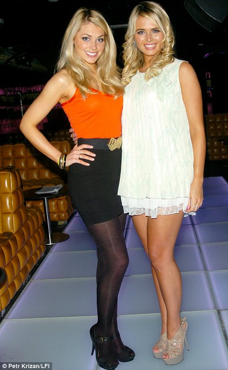 Georgia Horsley (left) and Laura Coleman