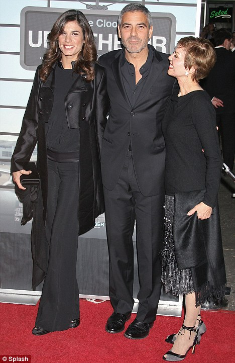 Elisabetta Canalis, George Clooney Nina Clooney Film Premiere, Up In The Air