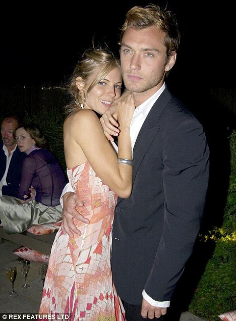 The way they were: Jude with Sienna in 2004