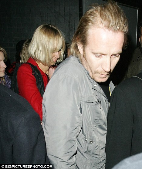 Kimberly Stewart and Rhys Ifans