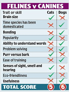 Felines v canines