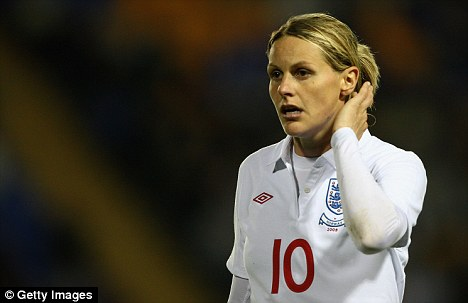 Kelly Smith of England