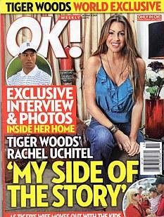 OK magazine cover