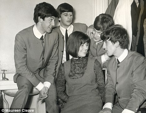 The Beatles with Maureen Cleave