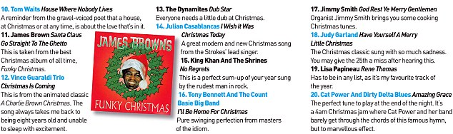 Jamie Cullum's Essential Christmas Playlist
