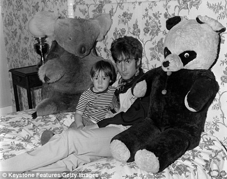 John and Julian Lennon