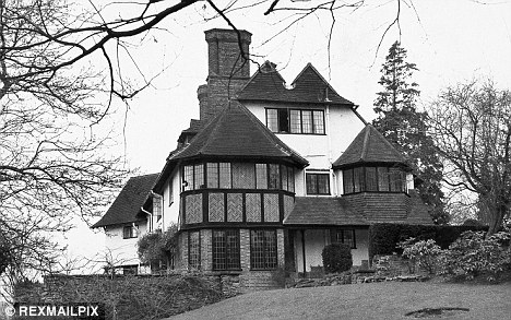 Tudor-style mansion
