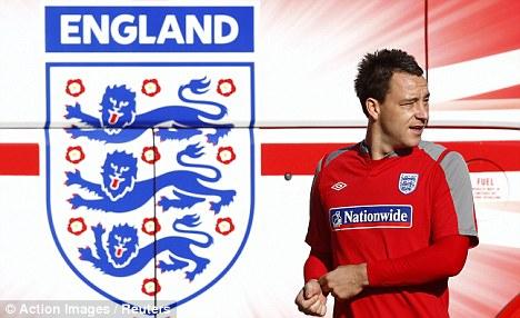 England captai John Terry