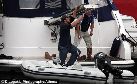 gavin henson on yacht