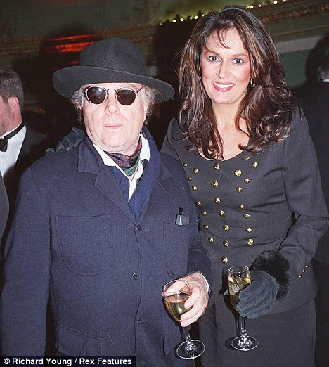 Van Morrison with wife Michelle