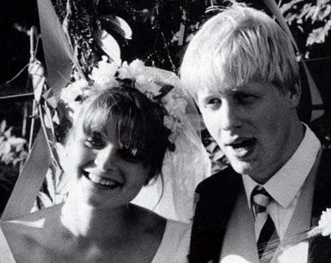 Boris Johnson and wife Allegra