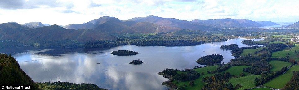 The Derwentwater in the Lake District
