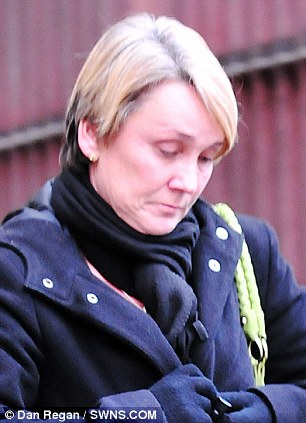 Jane Hoy leaves Bristol Magistrates Court