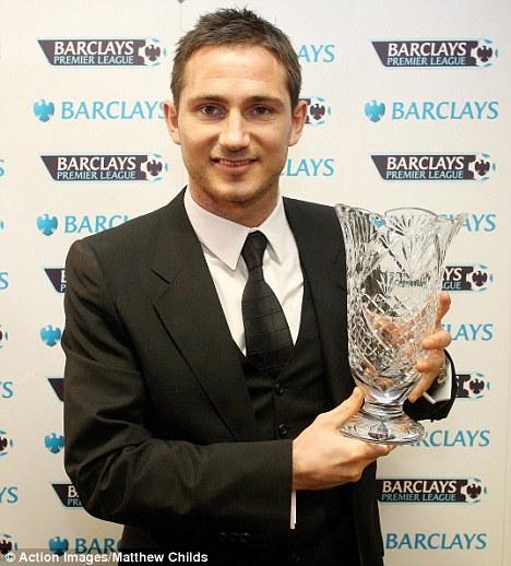 Frank Lampard Football Writers' Association's Tribute award