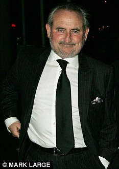 Frank  Lampard snr. (left)  arrives at the  Football Writers Gala evening at the Royal Lancaster Hotel