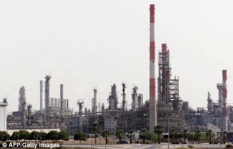 Jubail oil-refinery