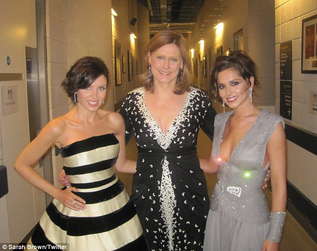 sarah brown dannii minogue and cheryl cole
