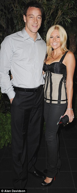 John Terry and his wife Toni