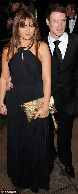 Wayne Bridge and Vanessa Perroncel