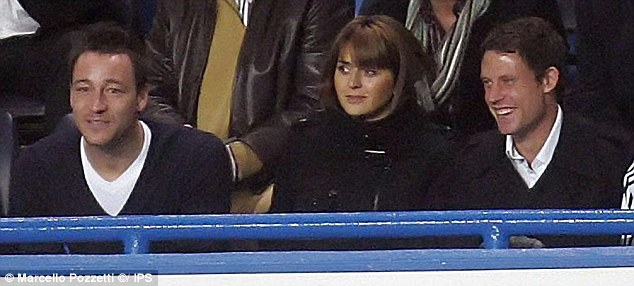 John Terry Vanessa Perroncel Wayne Bridge 2007