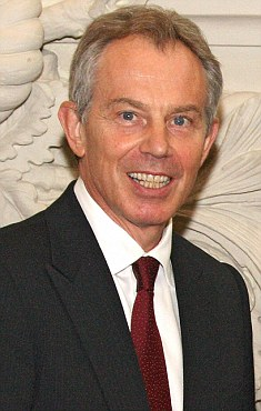 Former Prime Minister Tony Blair said in his 1997 manifesto Britain had 'firm control' over immigration