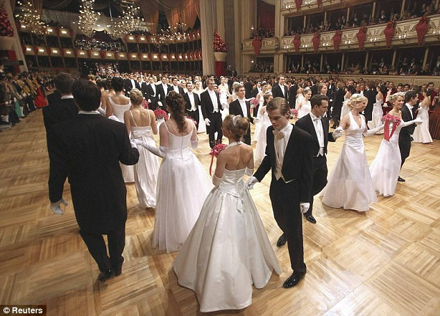 Opera Ball in Vienna